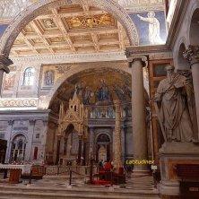 San Paolo all'interno della basilica