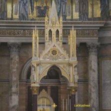 ciborio della basilica San Palo