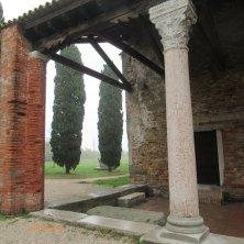 colonne basilica Torcello laguna di Venezia