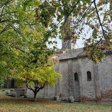 convento nel parco a San Francesco laguna di Venezia