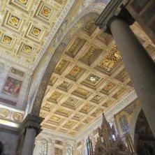 decori soffitto basilica San Paolo