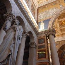 interno basilica San Paolo Roma