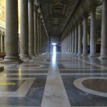 navata laterale della basilica