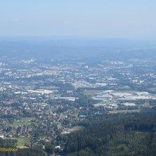 panorama da Jested su Liberec