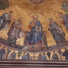 particolare mosaico abside San Paolo fuori le Mura