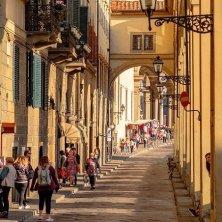 strada centro storico Firenze