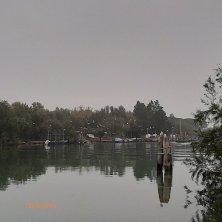 sul canale di Torcello isola laguna di Venezia