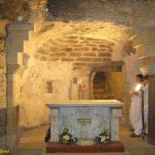 altare grotta sacra Nazareth