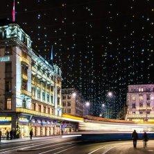 illuminazione Natale a Zurigo