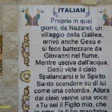 inscrizione in italiano a Nazareth