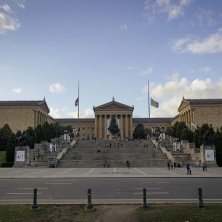scalinata di Rocky al Museum of Art Philadelphia nel cinema