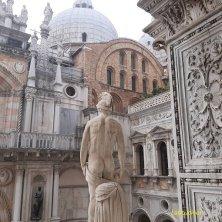 statua scalinata d'onore Palazzo Ducale Venezia