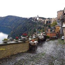 terrazza e lago Castel Gandolfo