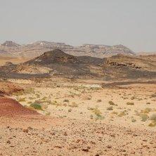 Israele e il deserto Qumran