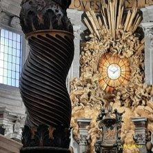 cattedra particolare del Bernini