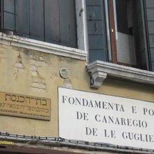 indicazione Ghetto Venezia