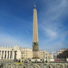 obelisco in piazza San Pietro