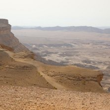 panorma deserto parchi di Israele