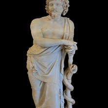 statua Asklepios Epidauro