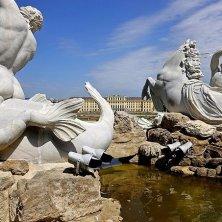 fontana del Nettuno particolari