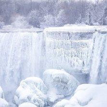 ghiaccio a Niagara