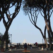 Roma dal giardino aranci Aventino