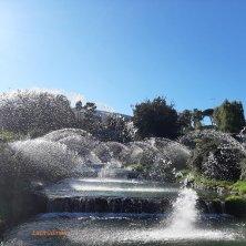 parco delle cascate laghetto dell'Eur