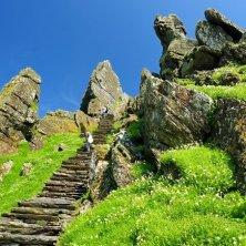 scalinata nella roccia Skelling Michael