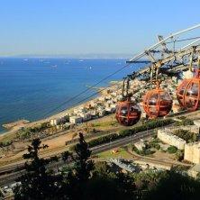 funivia e panorama Monte Carmelo