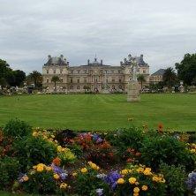 giardini di Luxemburg Parigi Baudelaire