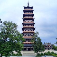 pagoda a Suzhou