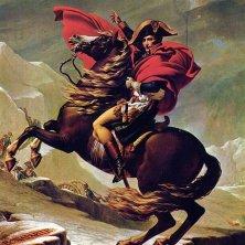 ritratto di Napoleone dipinto da Jacques-Louis David