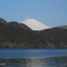 Fuji sul lago di Hakone