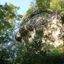 rocce intorno al sito