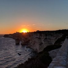 tramonto a Bonifacio