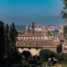 Firenze dai giardini di Boboli