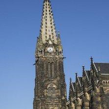Leipzig torre chiesa