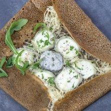 gallette bretone di grano saraceno ai formaggi