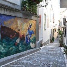 murales nel centro storico