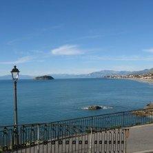 panorama sull'isola Cirella