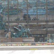 riflessi fontana Lipsia