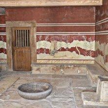 sala del trono Cnosso