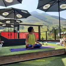 insegnante yoga benessere a Les 2 Alpes