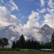 massiccio Muzele natura a Les 2 Alpes