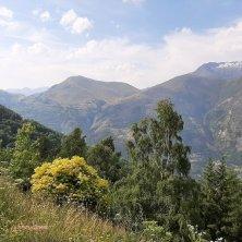 natura a Les Alpes entrata borgo
