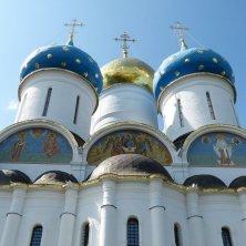 cattedrale dell'Assunzione monastero Sergiev Posad