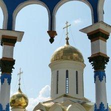 cupola cattedrale della Trinità Sergiev Posad