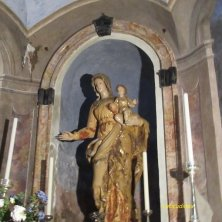 statua Madonna interno eremo