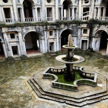 chiostro rinascimentale castello Tomar