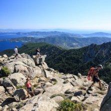 panorama trekking Napoleone all'Elba